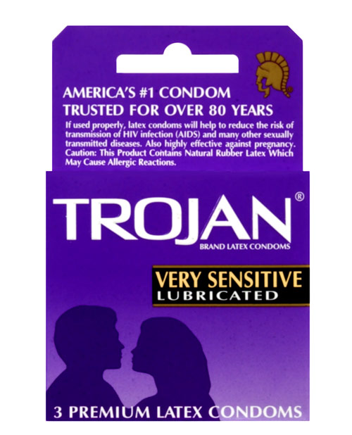 Trojan Very Sensitive 3pk
