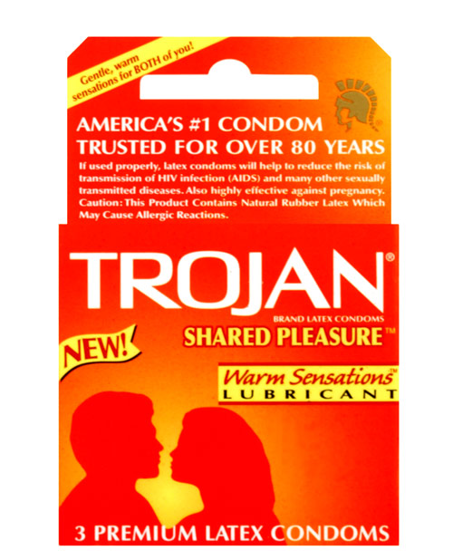 Trojan Shared Pleasure 3pk